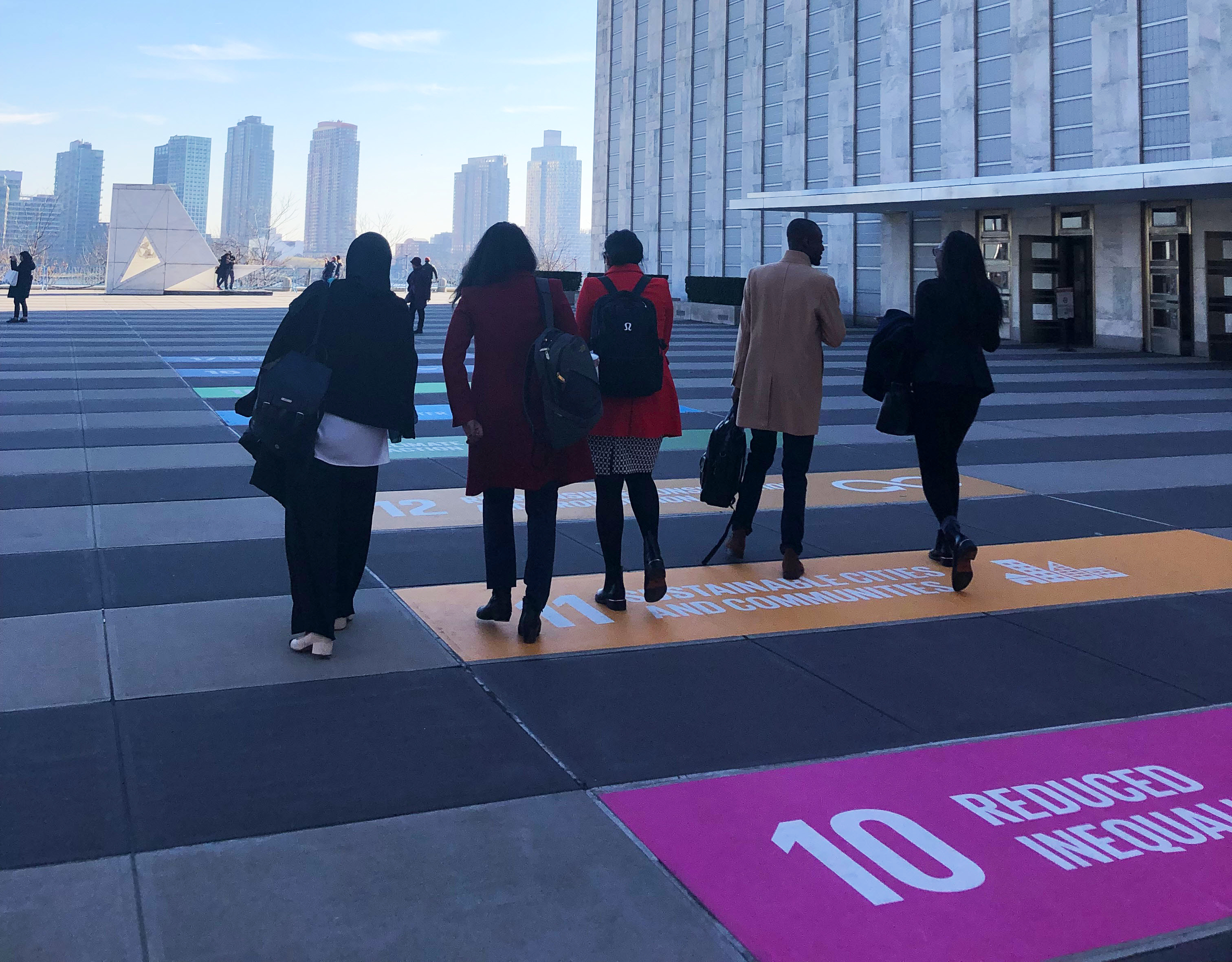 GP2 Team in New York - SDGs
