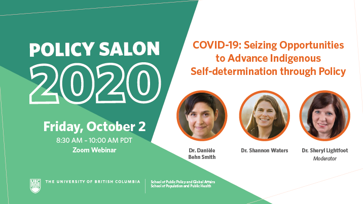 Oct 2 COVID-19 – Seizing Opportunities to Advance Indigenous Self-determination_Website